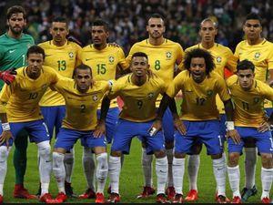 L'équipe nationale de football du Brésil - version 2018