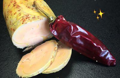 Foie gras au Piment d'Espelette, recette au thermomix