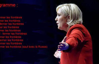 Marine Le Pen et le Rassemblement national publient leur programme pour 2022
