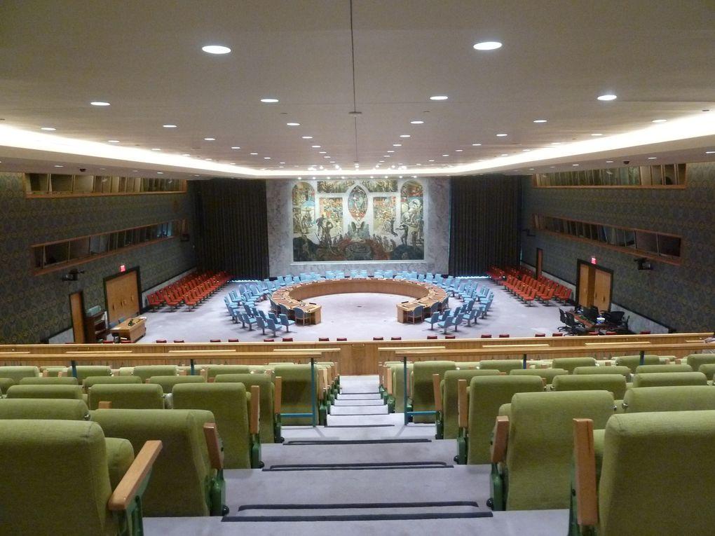 Visite de l'ONU, New York City, Avril 2018.