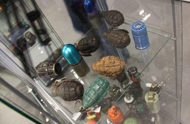 1600 Bombes ,Grenades de la guerre civile ont été récupérées en 2009 en Catalogne.