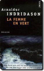 La femme en vert par Arnaldur INDRIDASON (2001)