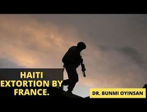 Sankofa Pan African Series - Haiti extortion by France | How french extorted Haiti