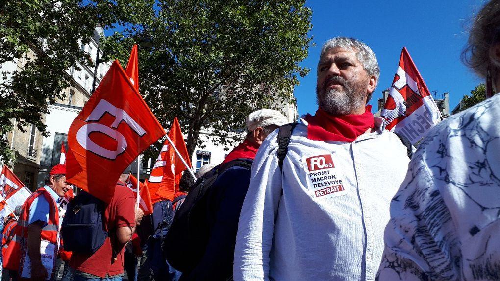 15000 à Paris avec FO le 21 septembre, prêts à la grève  pour le retrait de la loi Macron Delevoye