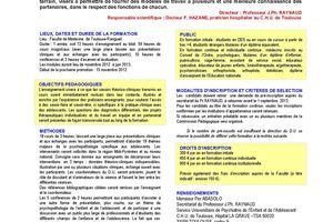 DU - Adolescence : Pathologies et soins psychiatriques - 2012/2013