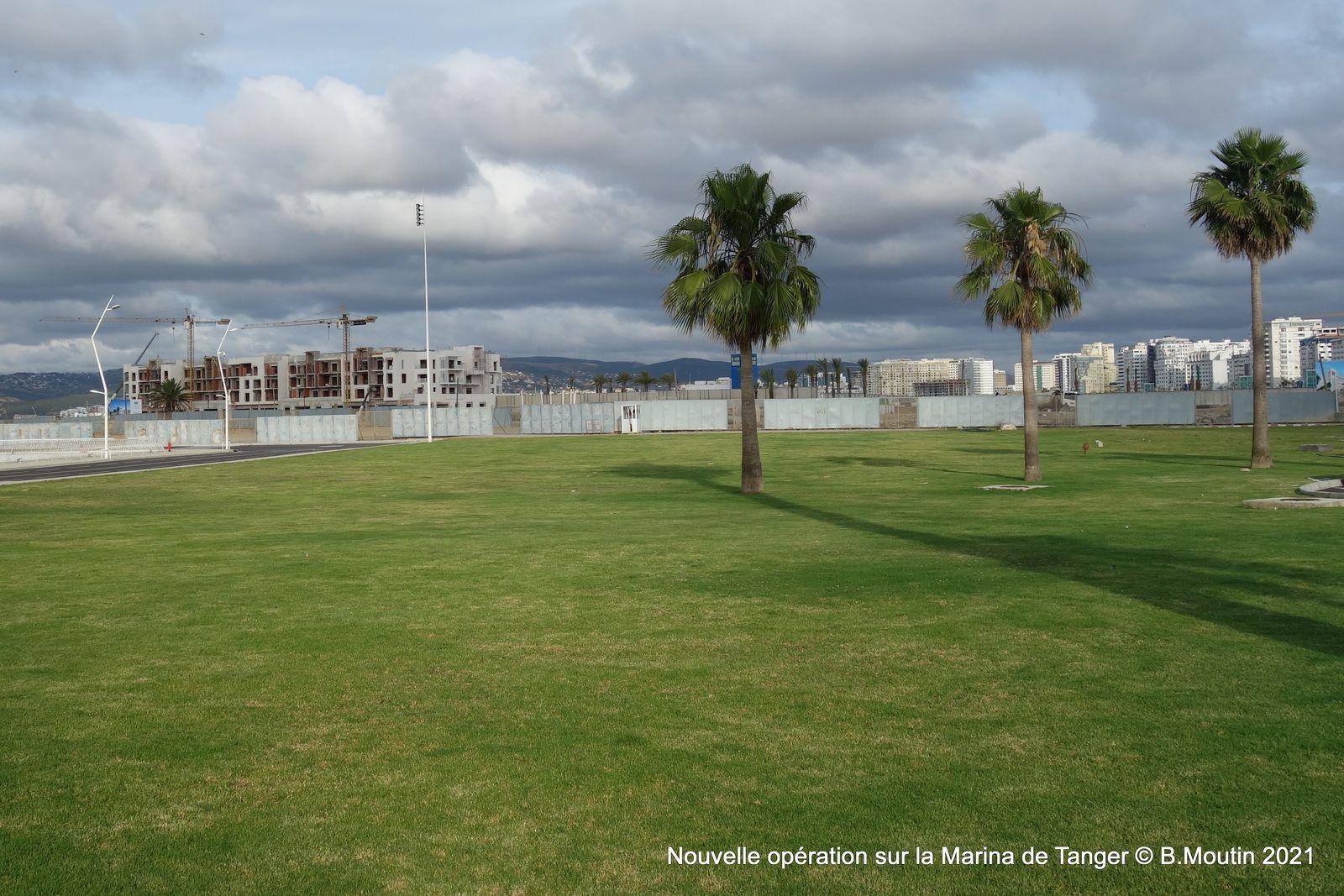 5 photos de la nouvelle construction de la Marina de Tanger
