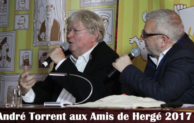 André Torrent et le journal de Tintin - Les Amis de Hergé 2017
