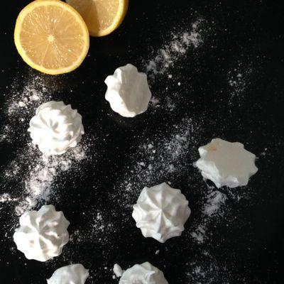 Meringues au citron de Melle Lex.