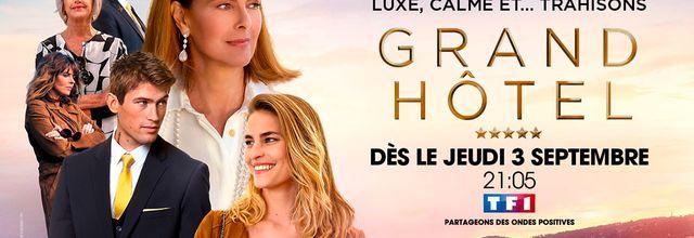 """Coup d'envoi de la série """"Grand Hotel"""" avec Carole Bouquet ce soir sur TF1"""