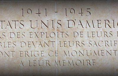 Monument du cimetière américain de Colleville-sur-Mer