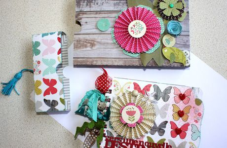 Mini album : Kit mars Accro de Scrap