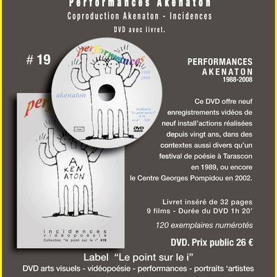 """La Collection de DVD # 19 """"Performances Akenaton"""""""