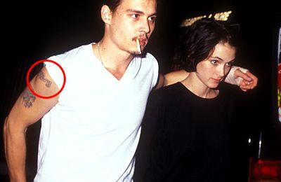 Johnny depp winona ryder tattoo