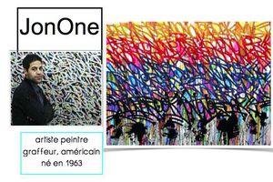 Portrait de JonOne Chez Chounette41