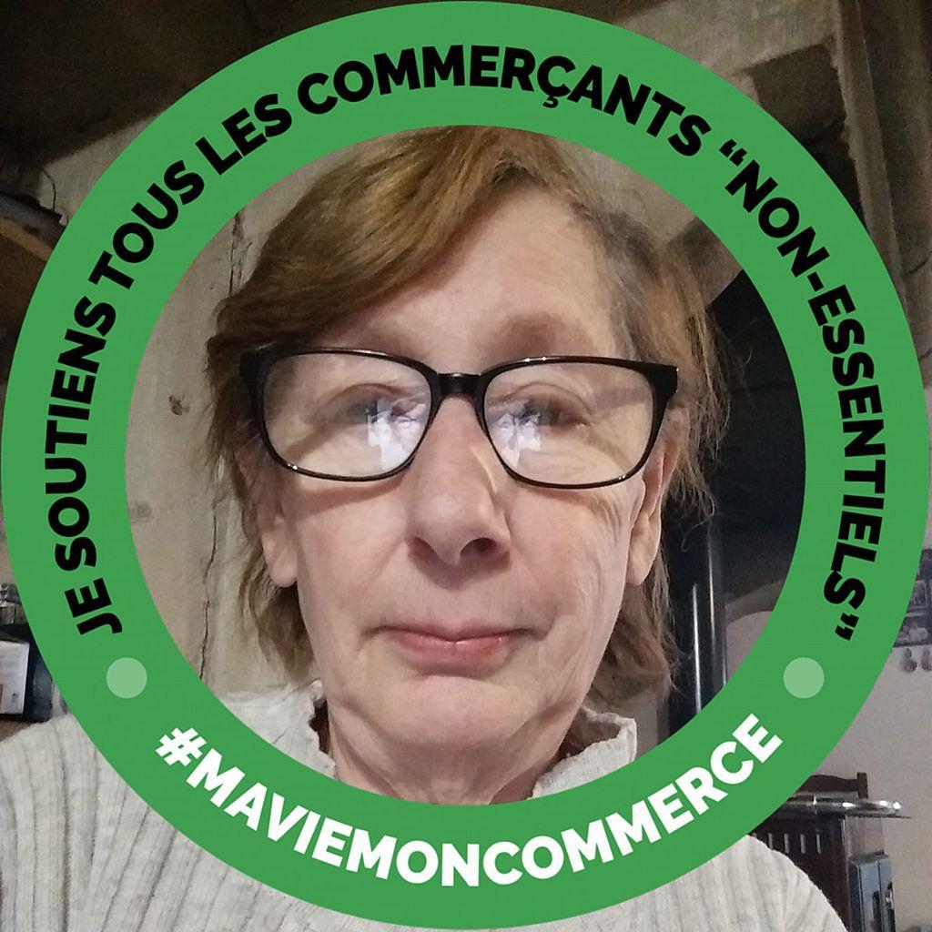 Joelle Lacercat soutient les commerces non essentiels