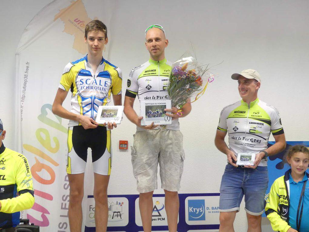 Triptyque du Fontanil - 20-05-18 - les résultats : des podiums !