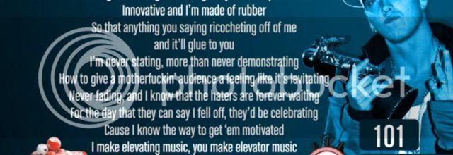 Eminem - 100 Words In 16 Seconds