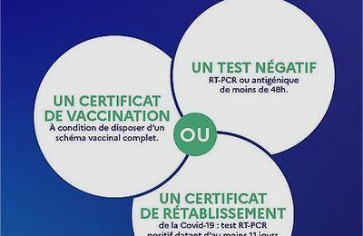 Respect du protocole sanitaire - Randonnée Fil du cens - Mardié 12 Septembre 2021
