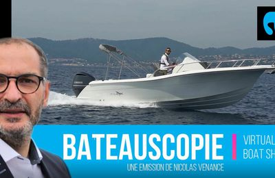 White Shark 240 EVO - notre essai au large de Fréjus
