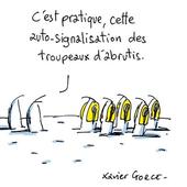 """"""" Dessine-moi un gilet jaune """", le mépris selon Xavier Gorce (Le Monde)"""