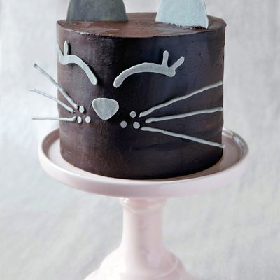 Black cat layer cake chocolat noisette