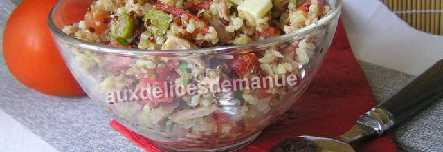 salade de quinoa gourmand