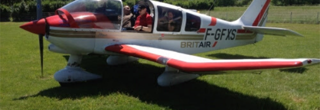 Les pilotes de Meaux offrent des vols de découverte aux soignants et personnels en 1re ligne