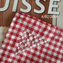 Ma broderie suisse... finie !