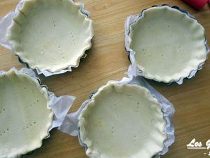 Ingrédients et préparation des tartelettes aux légumes