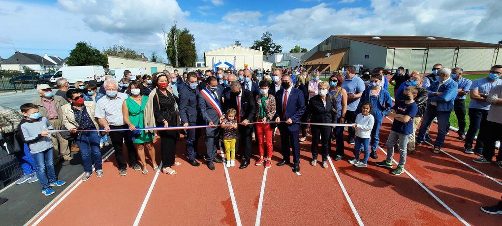 Inauguration de l'espace Loïc-Lebon et de la piste d'athlétisme ce samedi 5 septembre
