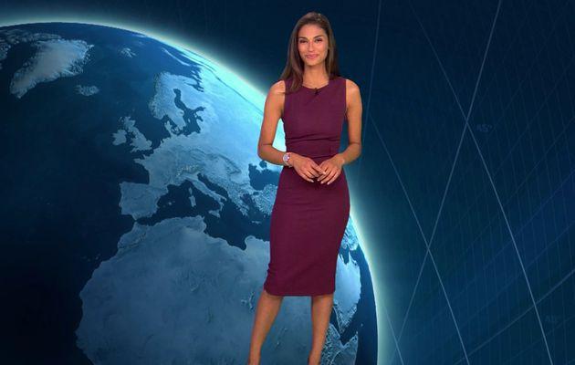 📸2 📺1 TATIANA SILVA @tatianasilva pour LA METEO @TF1 ce soir #vuesalatele