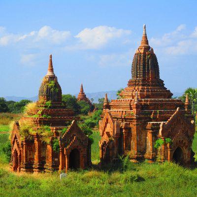 Rangoon et Bagan
