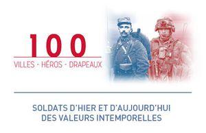 100 VILLES – 100 HEROS – 100 DRAPEAUX