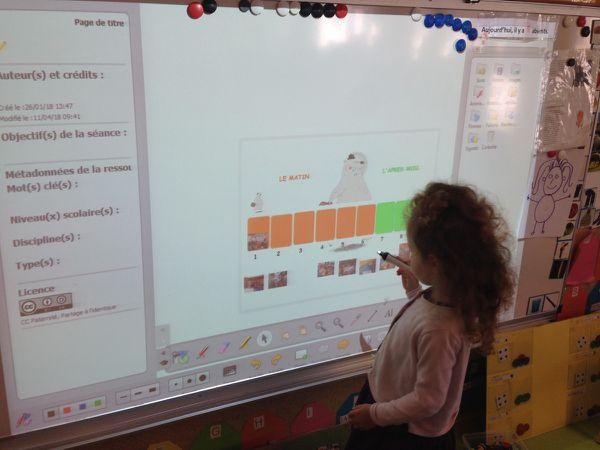 Utilisation du Tableau Interactif Numérique (TNI) dans une classe de Petite Section