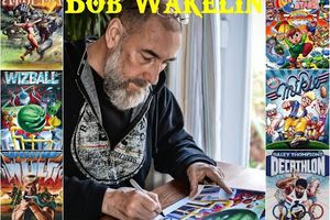 Tribute To Bob Wakelin (Covers of video games for Imagine and Ocean Sofware)
