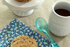 Biscuit chocolat noir et piment d'espelette