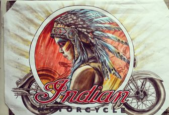Pin UP Indian motorcycles