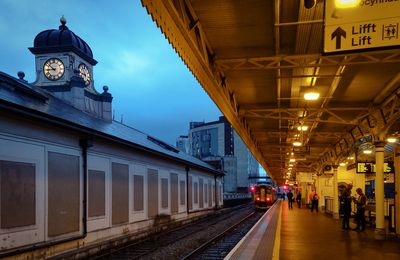 Primary Color Project - Cardiff Centraal Station