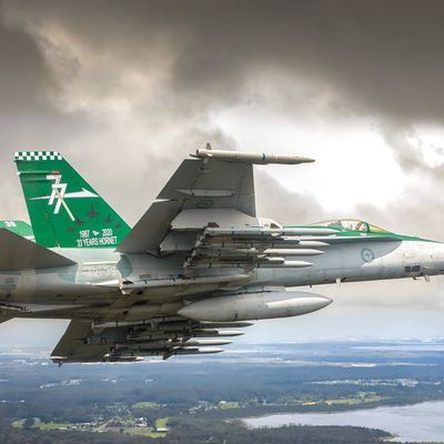 "McDonnell Douglas F/A-18A ""Hornet"" - 81 Wing - 77 squadron (n° 77 sqn) - 33 years of Hornet service"
