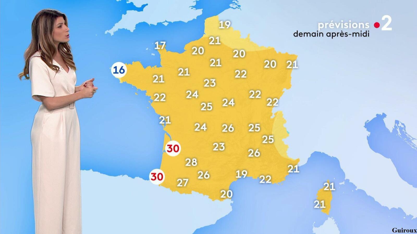 Chloé Nabédian 07/05/2021 Journaux météo du soir