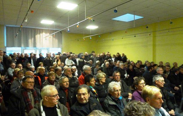 Photos et vidéos réunion sur la fusion des communes des Olonnes