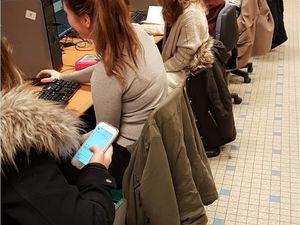 Atelier de twittérature au lycée de l'Iroise