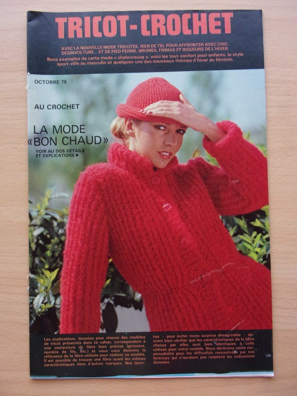 Tricots crochets 1979