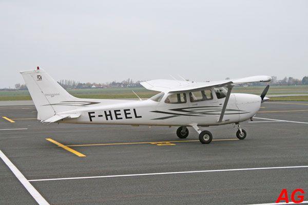 Le Cessna 172S F-HEEL.