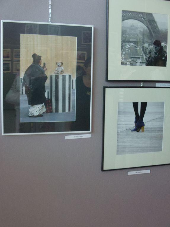 "Exposition ""la ville"" de Georges BEAUGEARD (photographe) et Catherine LANDRAUD (peintre). Carré d'art mercredi 1er au samedi 19 juin"