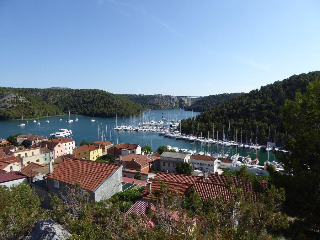 Skradin - Croatie été 2015.