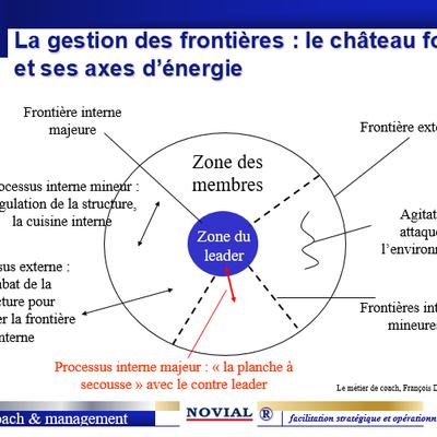 LA GESTION DES FRONTIERES ET DES AXES D'ENERGIE - LE CONTRE LEADER - LA PLANCHE A SECOUSSES