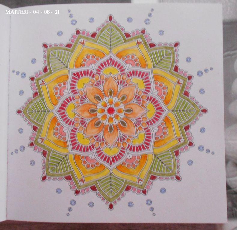"Petit Album ""Mandalas Zen"" de MARABOUT !"