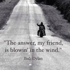 Faire l'amour avec un aveugle dans le vent.