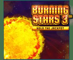 machine a sous Burning Stars 3 logiciel Wazdan